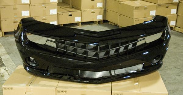 2010 2011 2012 Chevy Camaro SS Front Bumper Cover Fascia   Black